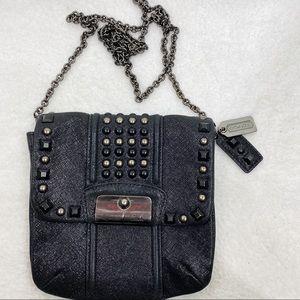 Coach studded chain strap crossbody small purse